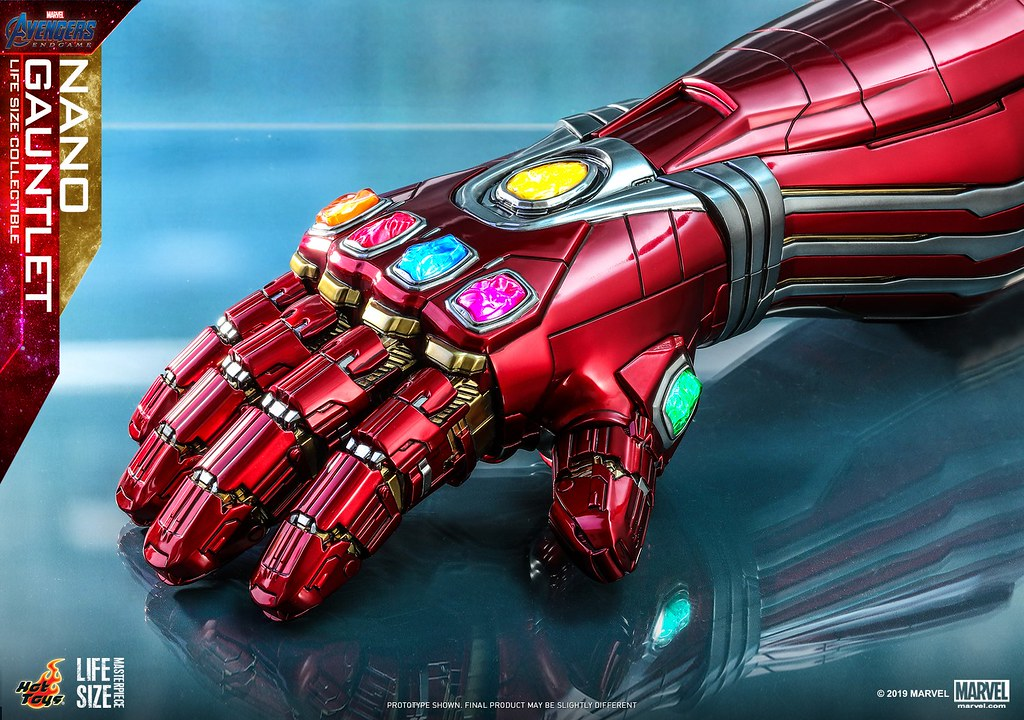 Hot Toys - LMS007 - 鋼鐵人所打造的無限手套 1:1 比例 奈米手套《復仇者聯盟4:終局之戰》 Nano Gauntlet!完全無愧對此神器的高製作水準!!
