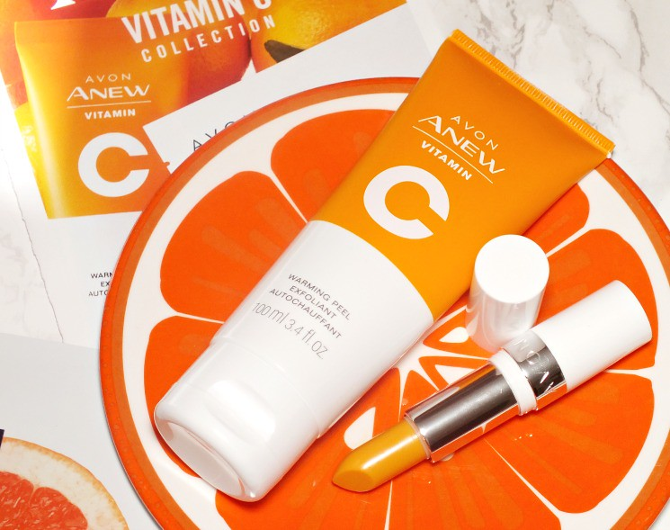 avon vitamin c warming peel