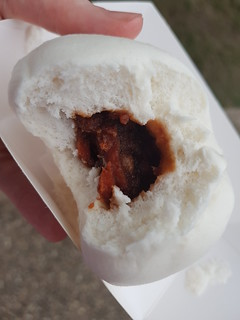 BBQ Steamed Buns at Buddha's Birthday Festival
