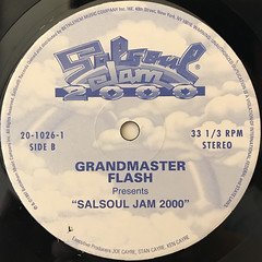 GRANDMASTER FLASH:SALSOUL JAM 2000(LABEL SIDE-C)