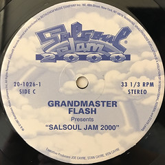 GRANDMASTER FLASH:SALSOUL JAM 2000(LABEL SIDE-B)