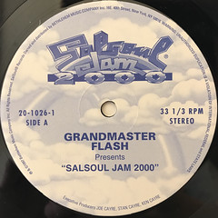 GRANDMASTER FLASH:SALSOUL JAM 2000(LABEL SIDE-A)