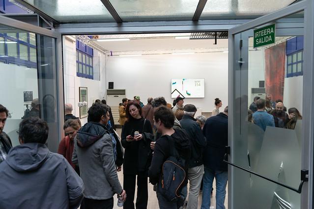«Wire 154» Exposición colectiva organizada por Booktegi