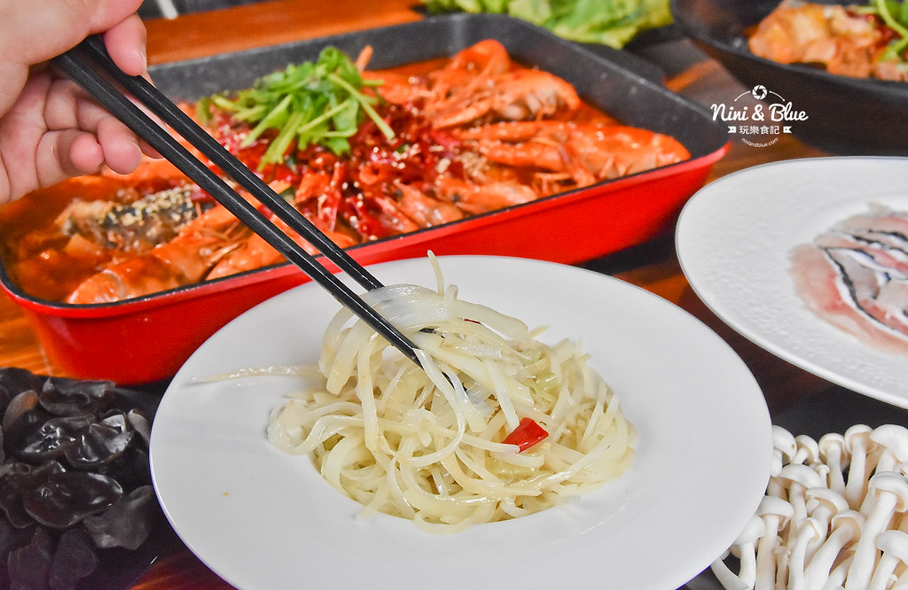 漁知香木桶魚 台中逢甲美食 麻辣烤魚 小龍蝦 水煮牛 四川烤魚30