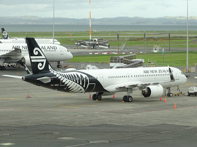 Air New Zealand Airbus A321NEO ZK-NNC