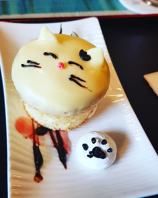 Houtong Cat Village cat cake