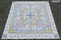 celtic cross finished quilt