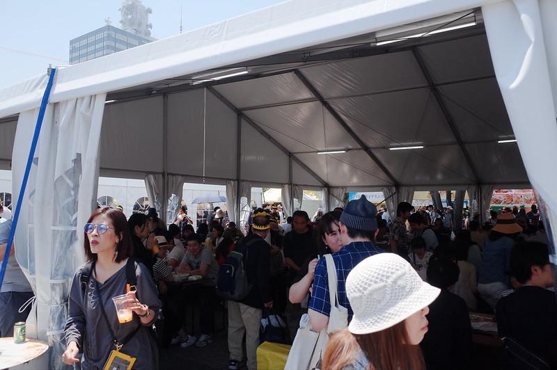渋谷代々木公園タイフェスティバル2019休憩所