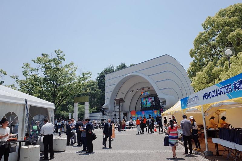 渋谷代々木公園タイフェスティバル2019中央ステージ