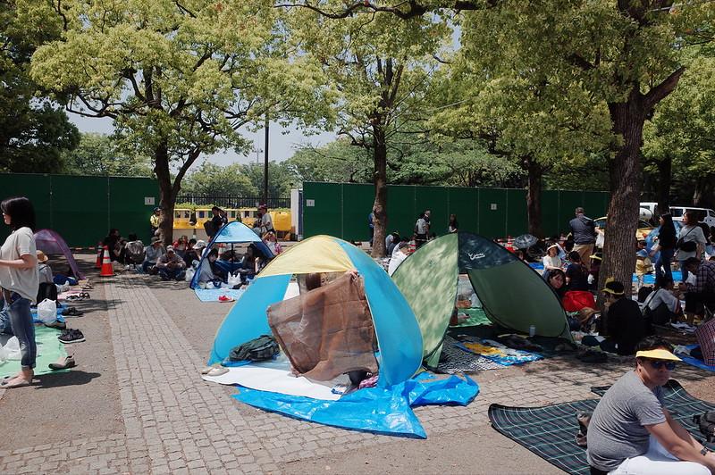 渋谷代々木公園タイフェスティバル2019広場場所取り