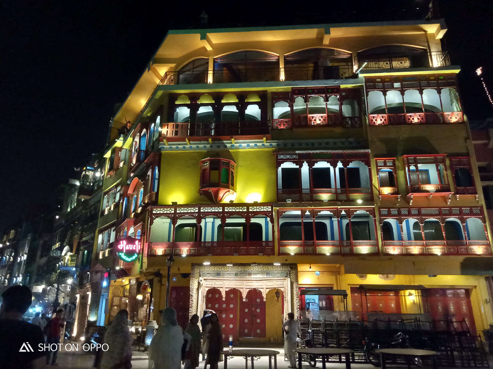 haveli food street lahore mobile photography