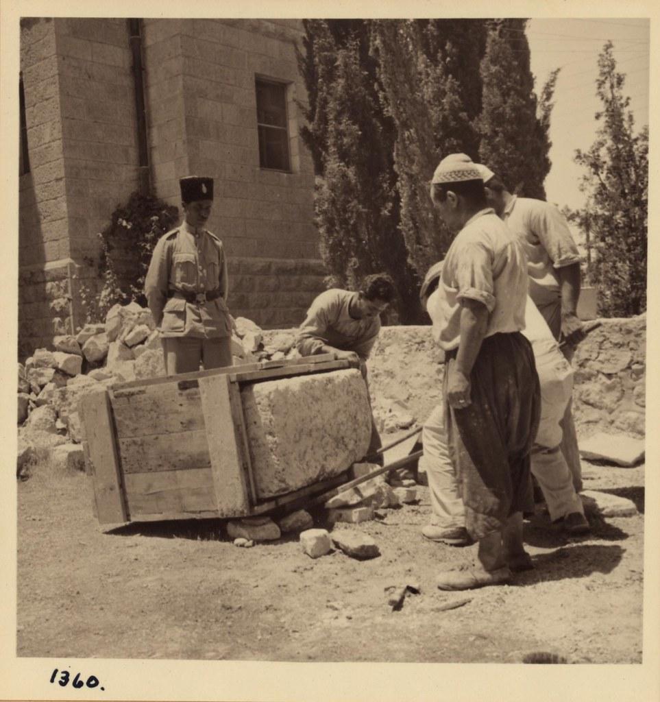 18. Упаковка камня из карьеров царя Соломона