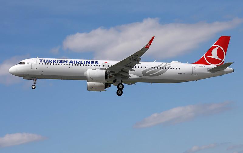 A321-271NX, Turkish Airlines, D-AVZS, TC-LSG (MSN 8794)