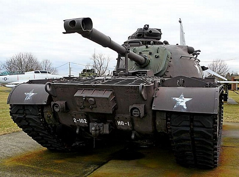 00012 M48 Patton Medium Tank