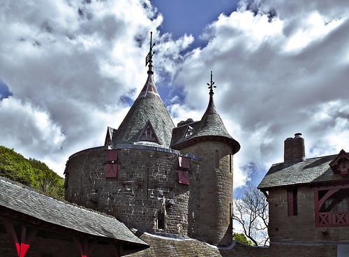castle castellcoch cardiff southwales chapel tower sonya6000 zeiss bute