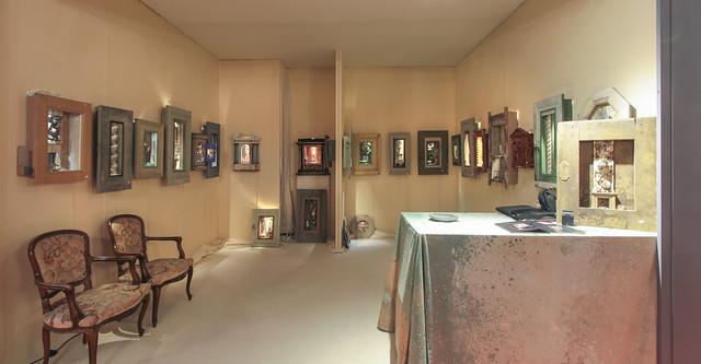 Peter Gabrielse Box Art at Antibes Art Fair