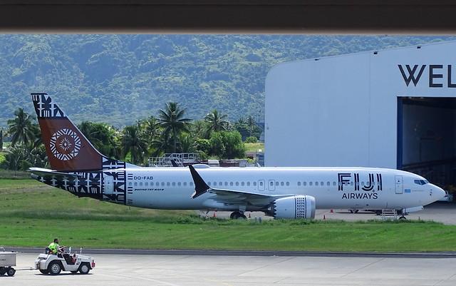 Fiji Airways Boeing 737 MAX-8 DQ-FAB