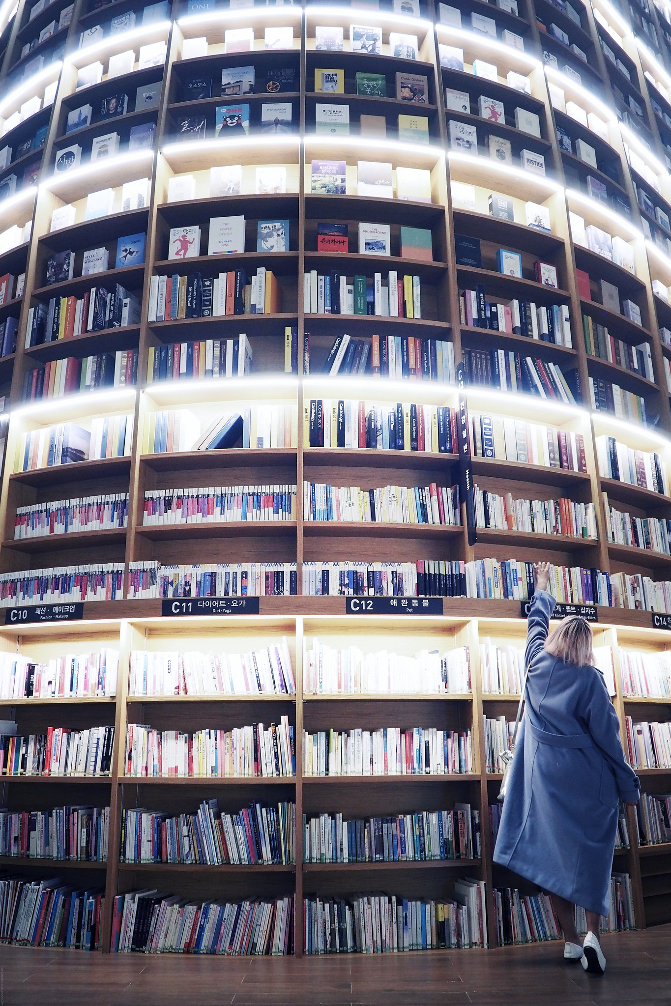Starfield Library Gangnam-gu Seoul South Korea_effected