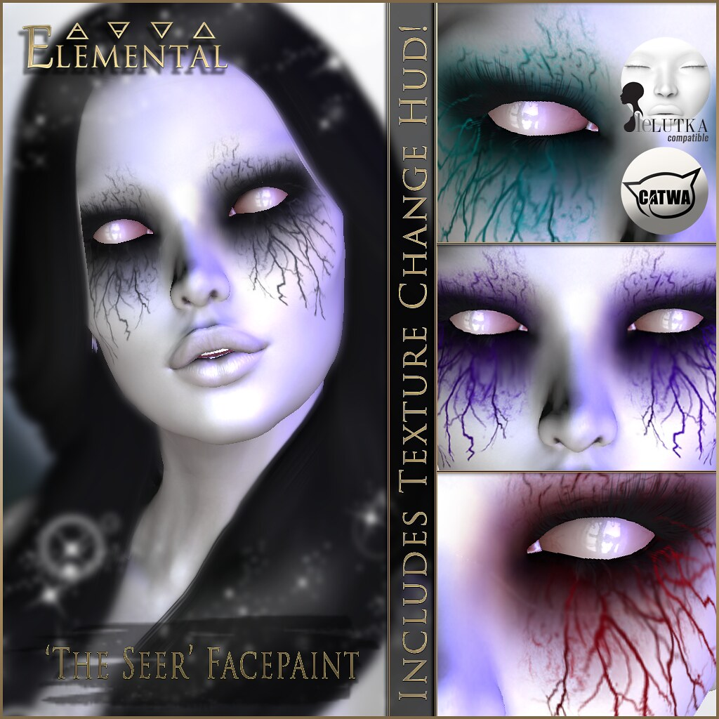 – ELEMENTAL – 'The Seer' Makeup Advert
