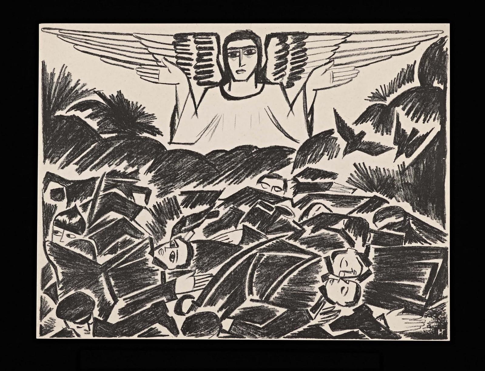 1914. Мистические образы войны 14 литографий-18