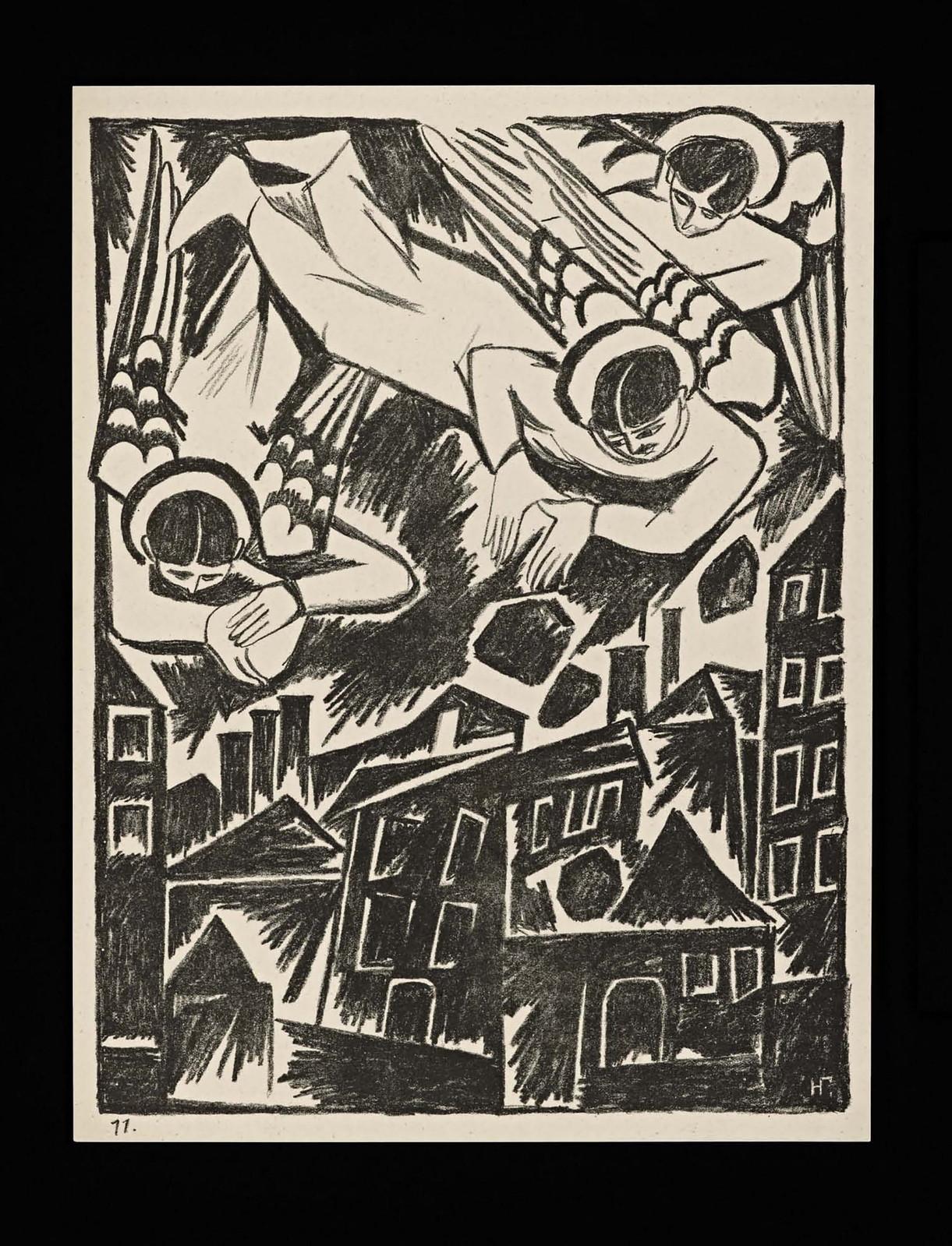 1914. Мистические образы войны 14 литографий-16