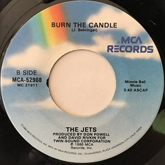 THE JETS:YOU GOT IT ALL(LABEL SIDE-B)