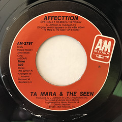 TA MARA & THE SEEN:AFFECTTION(LABEL SIDE-A)