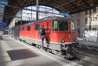 SBB Re 4/4 420 126 Basel SBB