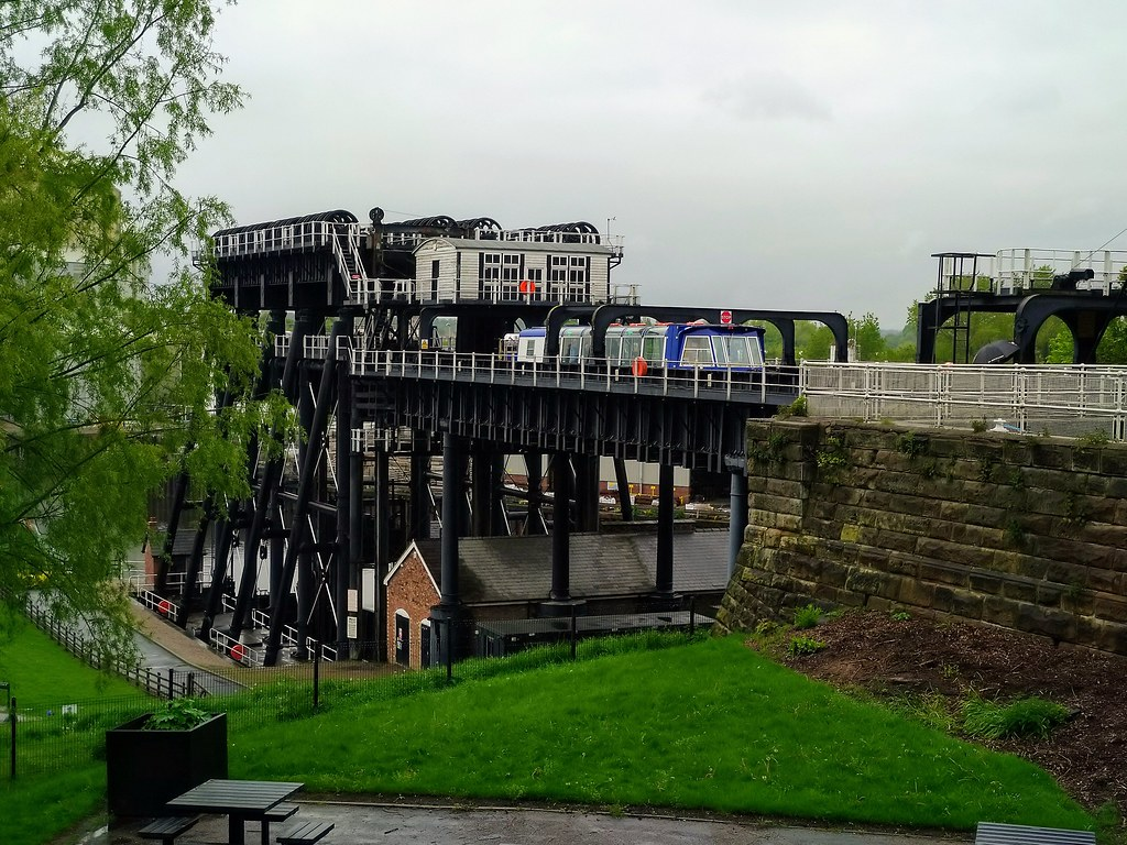 The Anderton Boat Lift, Northwich