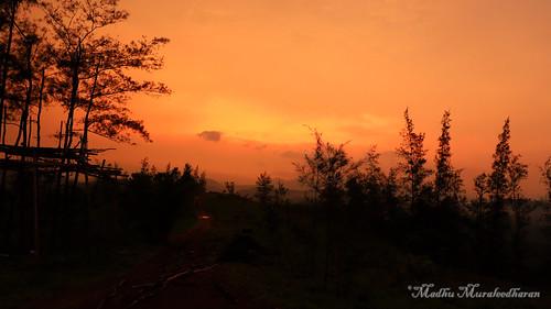 madhu madhumuraleedharan sunset thekkady kerala canon eos 6d mii