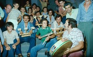 Somma Vesuviana (NA), 1975, La festa delle Lucerne.