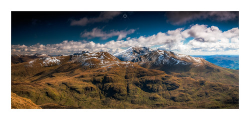 nisifilters benlawers bluesky canon clouds glen highlands meallnantarmachan morning mountains munro panorama perthshire scotland snow spring tarmachanridge