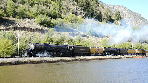 844steamtrain up union pacific big boy 4014 steam locomotive engine train trains railroad railway 844 3985 sp 4449 prr 5550 t1 trust travel tourism adventure events science technology history metal machine most popular video videos top viewed views trending relevant recommended viral galore culture america usa google youtube facebook shared wasatch sherman hill flying scotsman lner mallard photography photo digital flickr