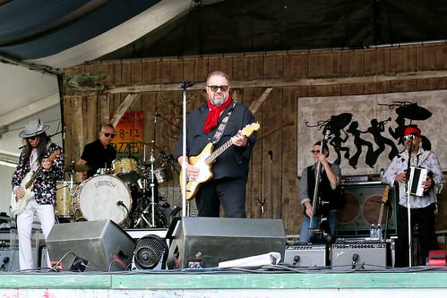 The Mavericks at Jazz Fest day 8 - 5.5.19. Photo by Bill Sasser.