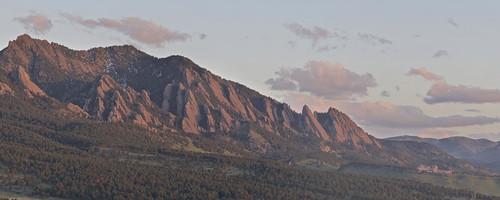 Boulder Flatirons and NCAR Lab