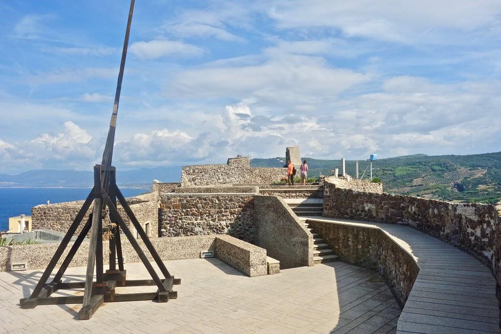 Cosa vedere a Castelsardo - Camminamento del castello