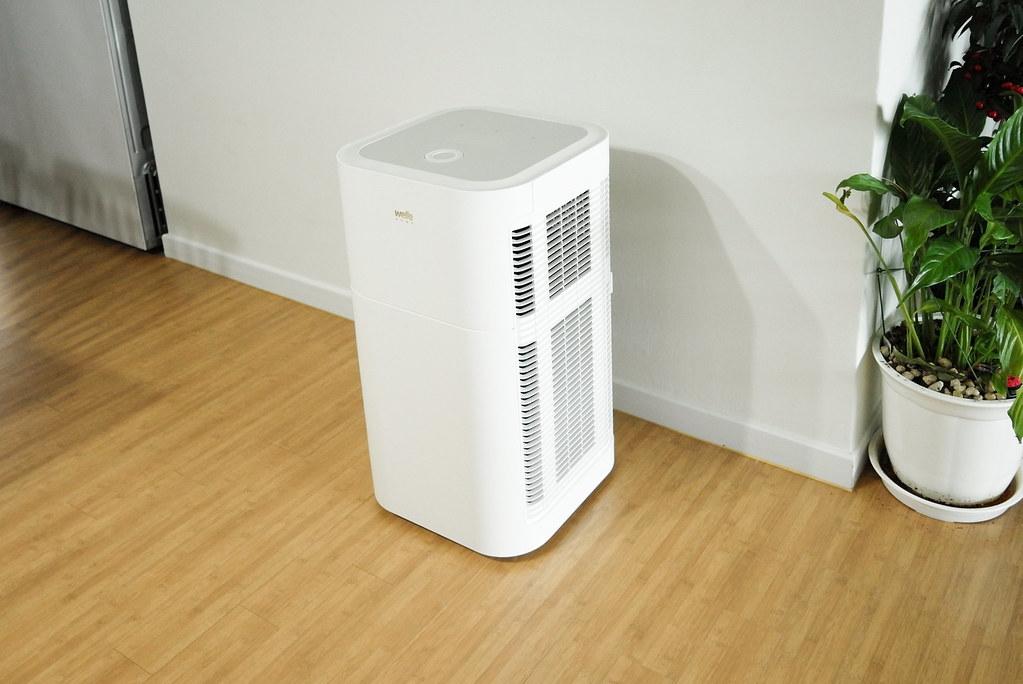 使用能夠吸附揮發性有機化合物、捕捉懸浮微粒的空氣清淨機是改善室內空氣品質方法之一。圖:Aaron Yoo via flickr(CC BY-ND 2.0)