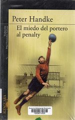 Peter Handke, El miedo del portero al penalty