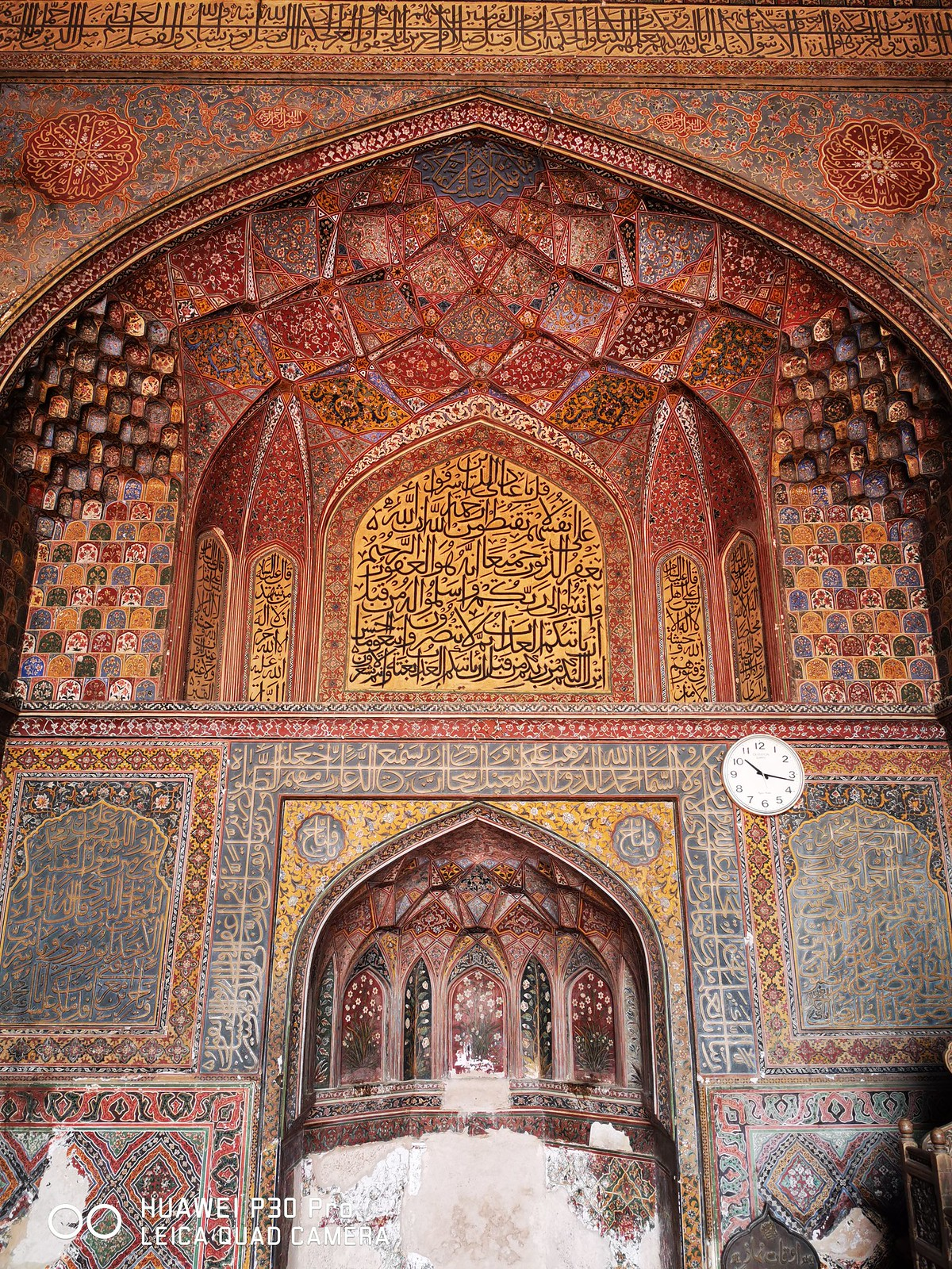 wazir khan mosque mobile photography