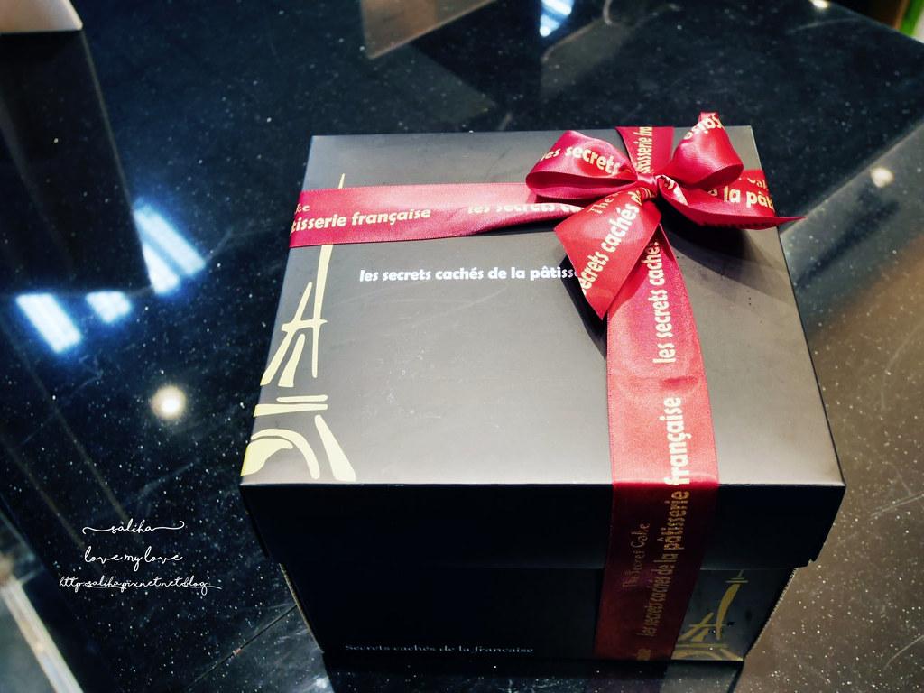 台北車站伴手禮彌月蛋糕長條蛋糕下午茶甜點推薦法國的秘密甜點 (8)