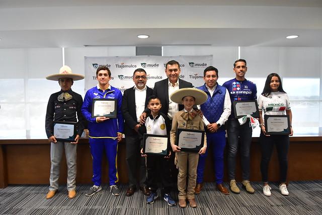 Reconocimiento a Atletas de Tlajomulco