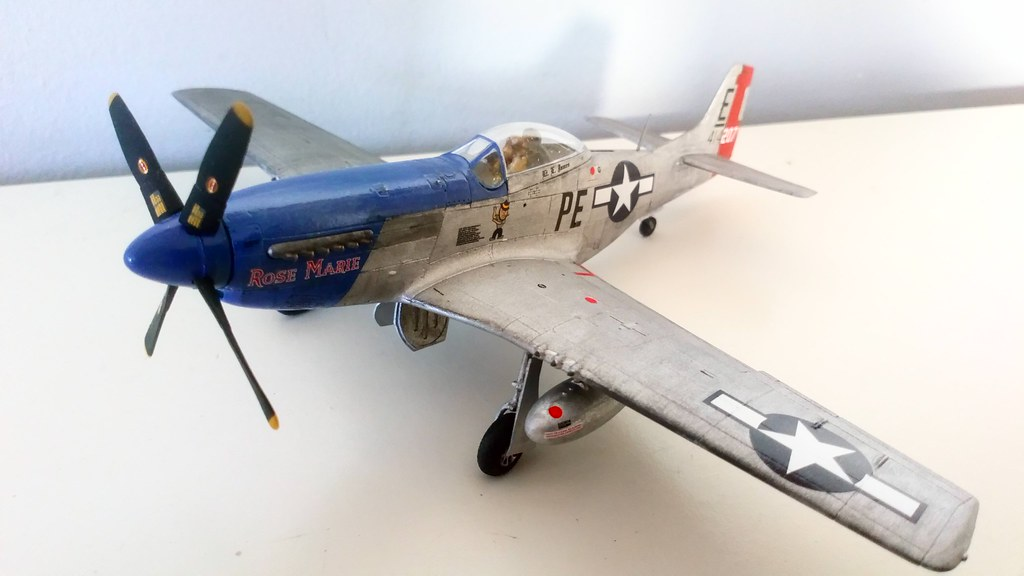 Airfix 1:72 P51D Mustang - Ready for Inspection - Aircraft