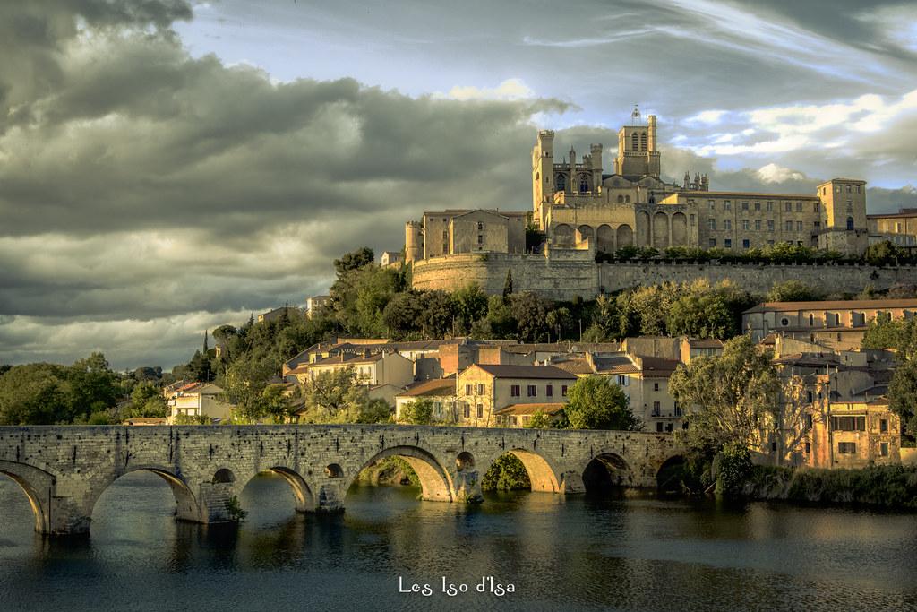 Béziers , la vieille ville