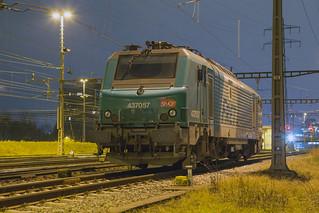 SNCF BB 37057 Muttenz Yard