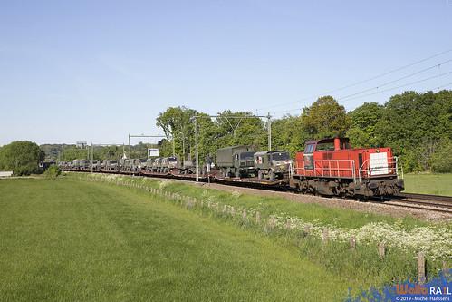 6507 . DB Cargo . 44786 . Maastricht Noord . 13.05.19.