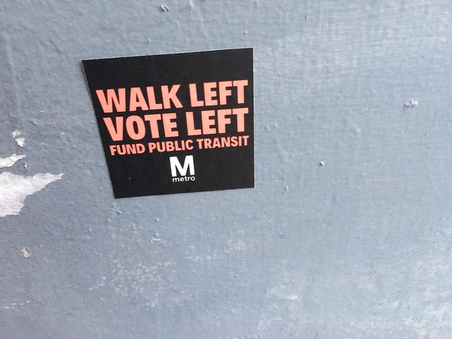 Walk this way, vote this way