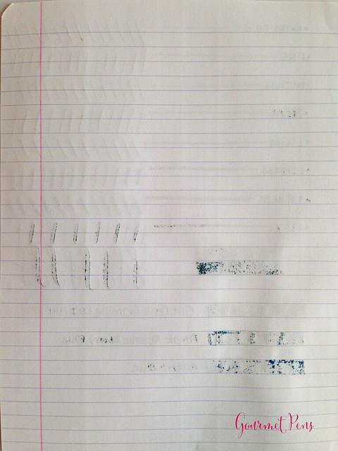 Cult Pens Diamine Deep Dark Blue Ink Review 5