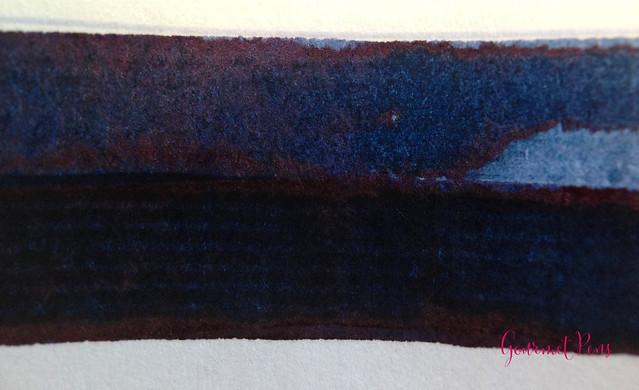 Cult Pens Diamine Deep Dark Blue Ink Review 3
