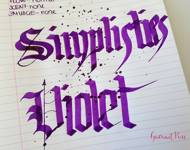 P.W Akkerman Simplisties Violet Ink 6