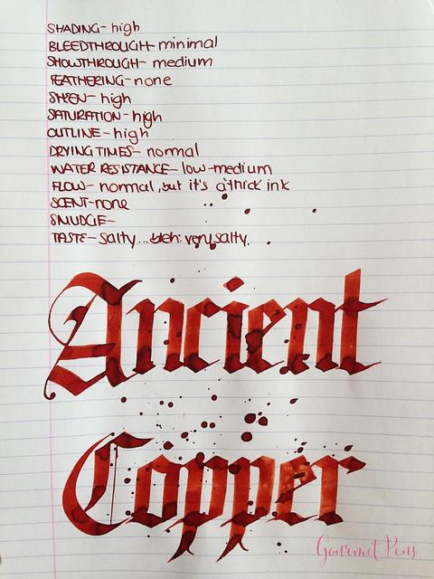 Diamine Ancient Copper Ink 6